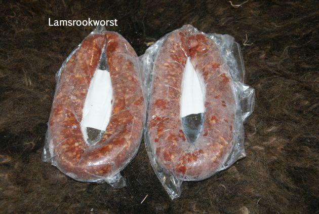 lamsvlees-rookworst